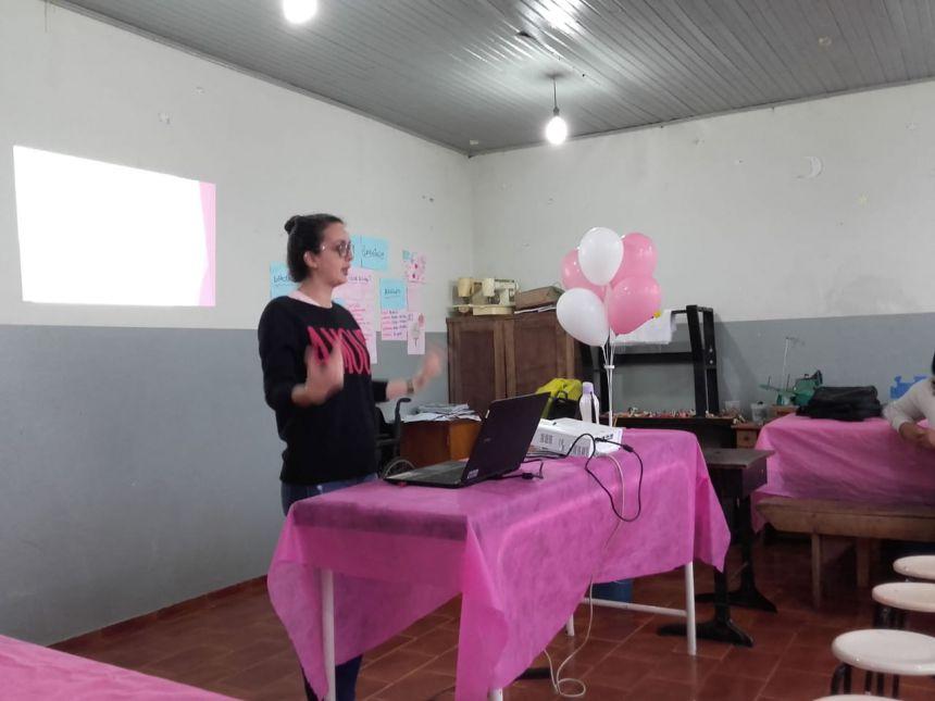 Saúde da família rural promove atividades no Outubro Rosa; saiba mais.