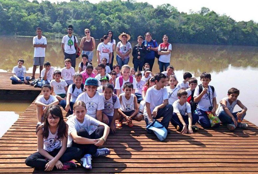 Atividades no Parque Joaquim Teodoro de Oliveira em Campo Mourão