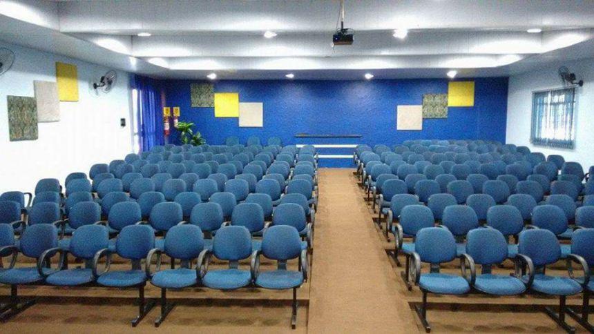 Vista do palco para a plateia