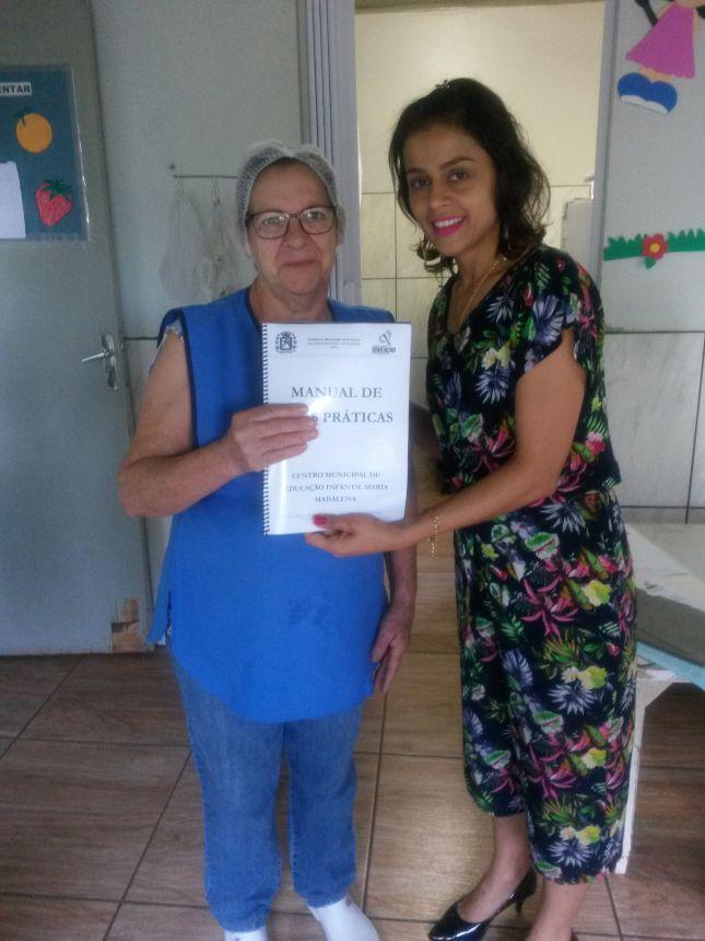 SME promove formação continuada com cozinheiras das unidades educacionais públicas municipais