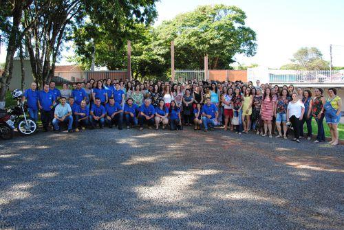Profissionais da Educação participam de Semana Pedagógica. Fotografia: Rivaldo de Mattos.