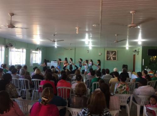 Reunião do PAIF aconteceu nesta quarta-feira, 05, no Centro de Convivência do Idoso. Fotografia: Jhony de Oliveira Lima.