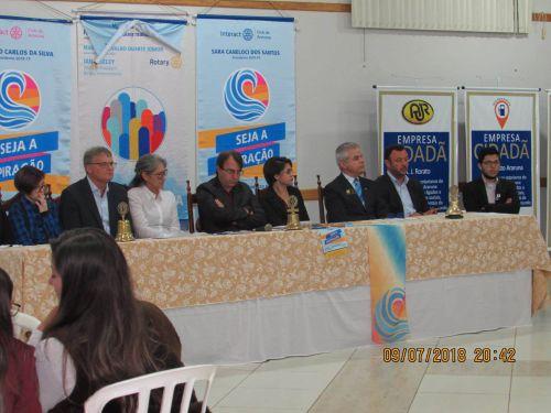Novo Conselho Diretor da Família de Araruna toma posse. Fotografia: Jhony de Oliveira Lima.