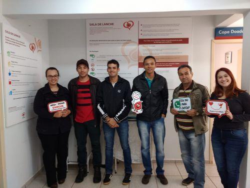 Campanha de doação de sangue segue até dezembro em Araruna. Fotografia: Secretaria Municipal de Saúde de Araruna.