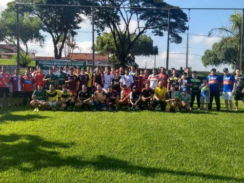 Ao todo, 39 duplas participaram do 1° Torneio de Pênalti realizado pelo Departamento de Esportes. Fotografia: Wellington Aguiar Santana.