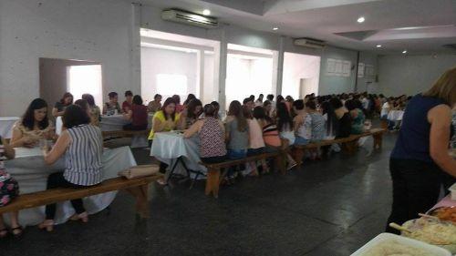 Secretaria de Educação promove comemoração referente ao dia do professor; veja imagens.