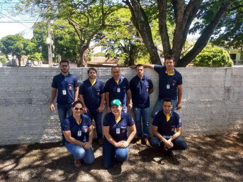 Equipe da Vigilância Sanitária e Agentes de Endemias atuarão durante todos os dias de ação do projeto. Créditos: Tatiane Ferretti da Silva.