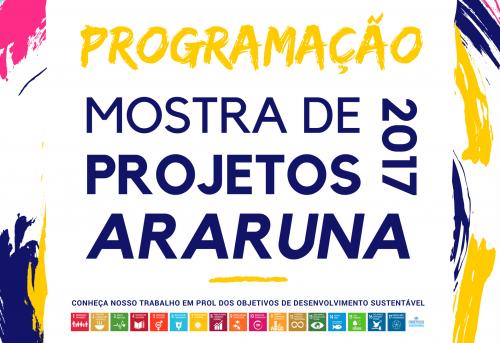 Marca Oficial da III Mostra de Projetos de Araruna. Créditos: Jhony de Oliveira Lima