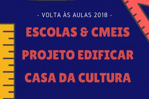Ano Letivo inicia em fevereiro para Educação, Cultura e Assistência Social.