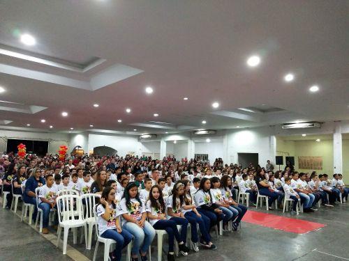 175 alunos participam de formatura do PROERD 2018 em Araruna. Fotografia: Jhony de Oliveira Lima.