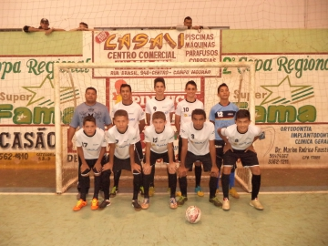 Araruna sedia rodada da I Copa Pirâmide Veículos/Joderbol de Futsal Regional