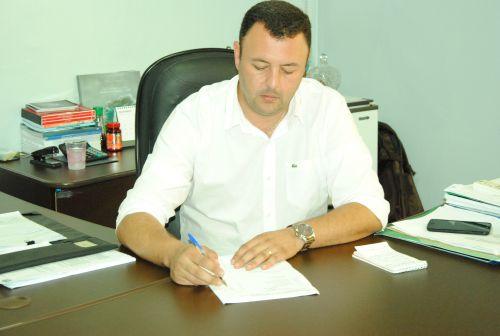 Leandro Cesar de Oliveira, Prefeito de Araruna