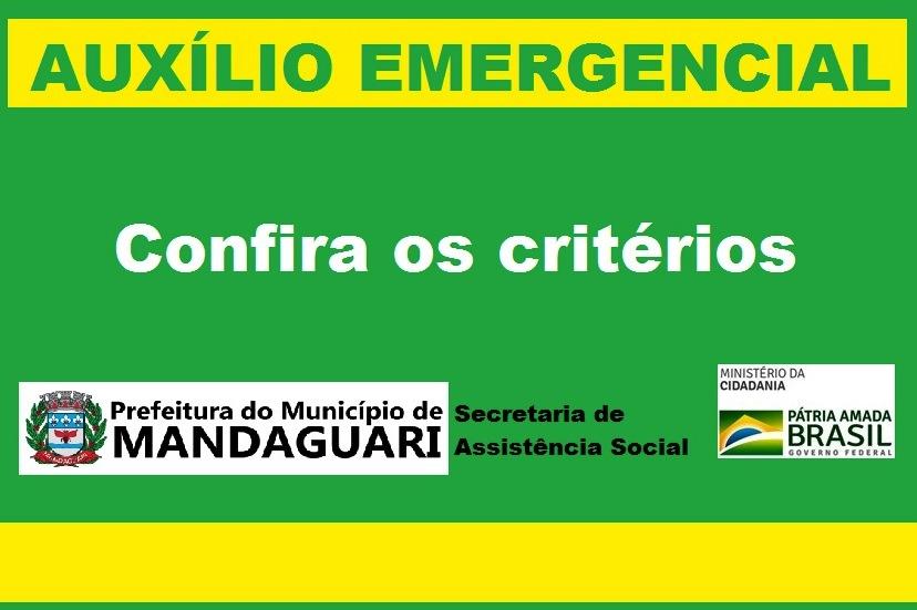 Prefeitura divulga critérios para acesso ao auxílio emergencial, mas ainda falta plataforma para não inscritos no Cadastro Único