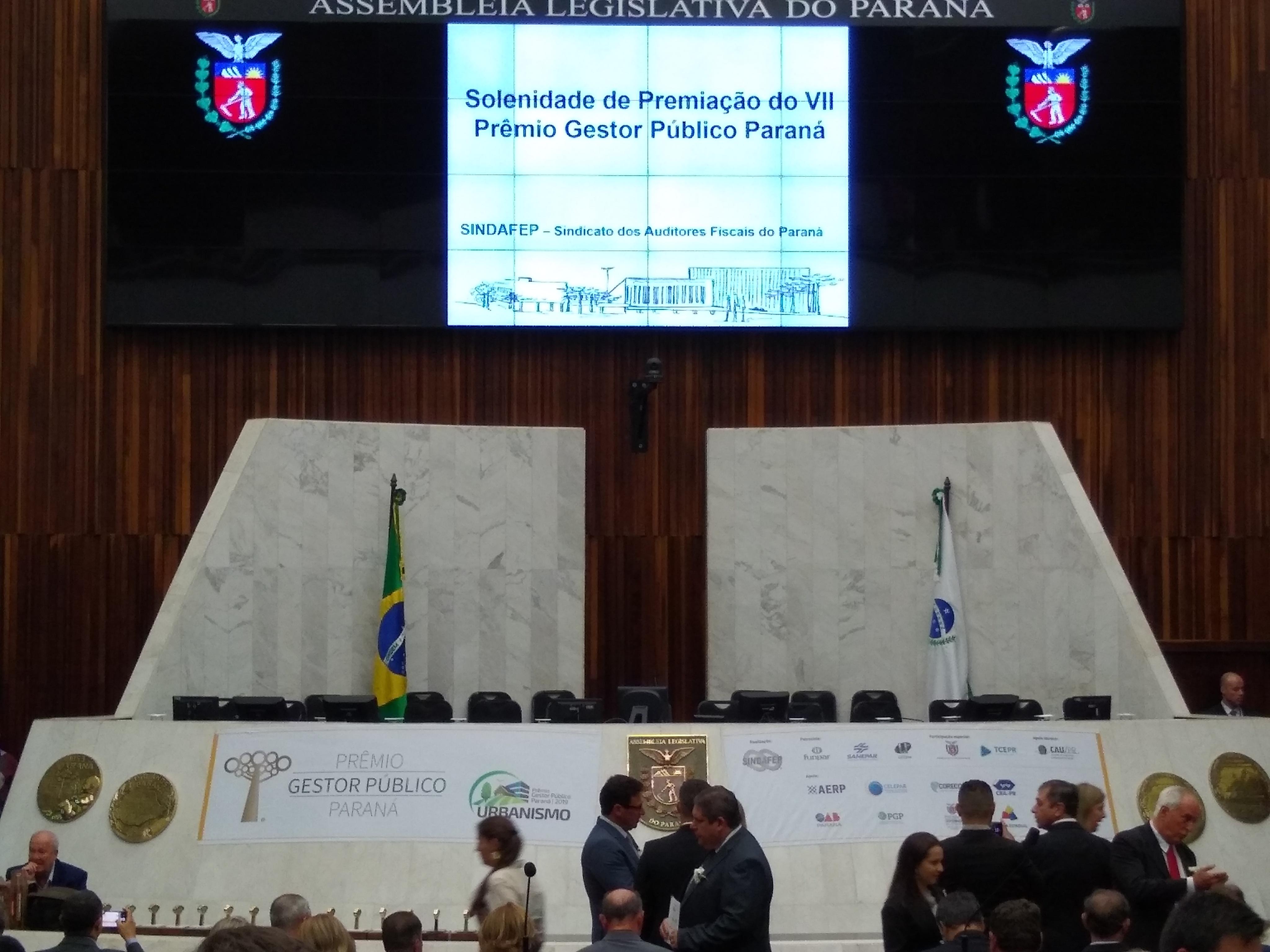 Mandaguari mais uma vez é destaque no Prêmio Gestor Público Paraná