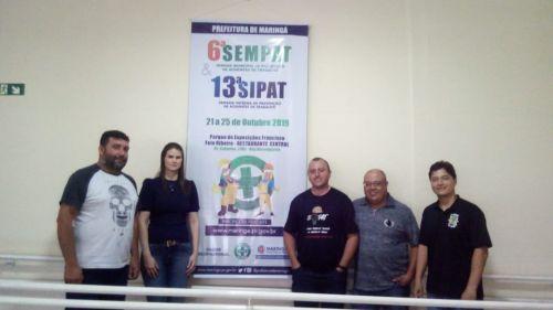 Membros da CIPA aprimoram conhecimento em eventos de Maringá