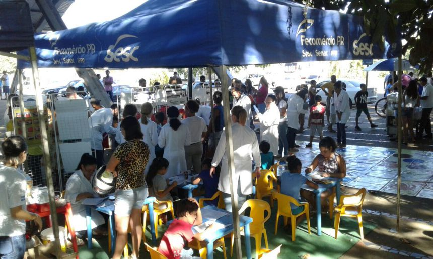 Secretaria de Saúde participa do Rotary Day