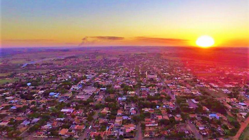 Sol Poente em Alto Paraná