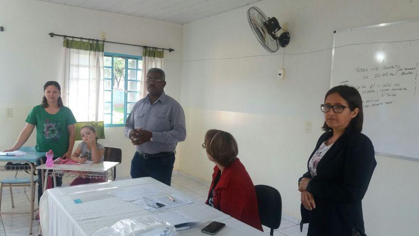 As participantes foram recepcionadas na aula inaugural pelo Prefeito Municipal de Alto Paraná Altamiro Santana , juntamente com a  Gestora Social Maria Aparecida Luckmann