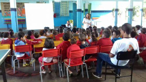 Prevenção em saúde bucal nas Escolas Municipais de Alto Paraná e distritos.