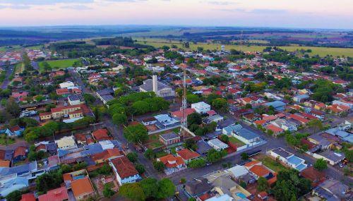 Entardecer em Alto Paraná de Sul para Norte