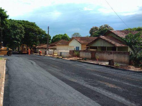 Distrito de Santa Maria recebe melhorias em pavimentação.