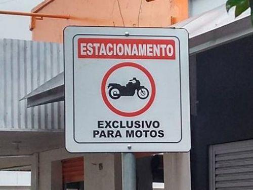 Atendendo a solicitação da População, Prefeitura Regulamenta Estacionamentos de Motos através de decreto.