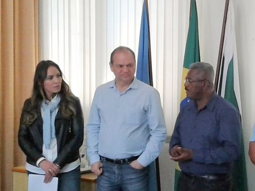 MINISTRO DA SAÚDE RICARDO BARROS VISITA ALTO PARANÁ