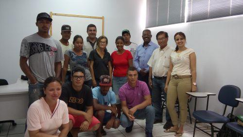 DIVISÃO DE ASSISTENCIA SOCIAL PROMOVEU O CURSO DE  TRABALHADOR NA OPERAÇÃO E MANUTENÇÃO DE TRATORES AGRÍCOLAS.