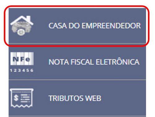 SITE DA PREFEITURA SE CONECTA DIRETAMENTE A CASA DO EMPREENDEDOR