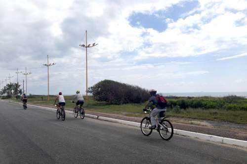 Litoral terá rotas de cicloturismo durante a temporada de verão