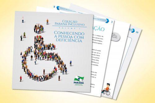 Estado lança coleção de cartilhas sobre direitos da pessoa com deficiência
