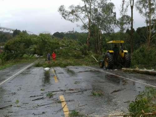 Chuva causa estragos e afeta mais de 26 mil pessoas em todo o Paraná