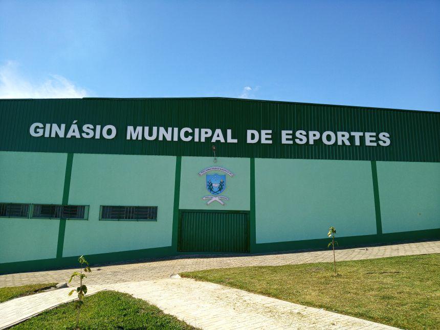 REFORMA DO GINÁSIO DE ESPORTES DO PALMITAL