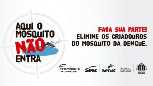 FAÇA SUA PARTE! ELIMINE OS CRIADOUROS DO MOSQUITO DA DENGUE.