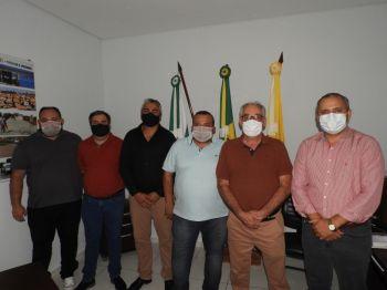 ASSESSOR DA CASA CIVIL ESTEVE NO MUNICÍPIO DE IPORÃ 11 DE JANEIRO 2021