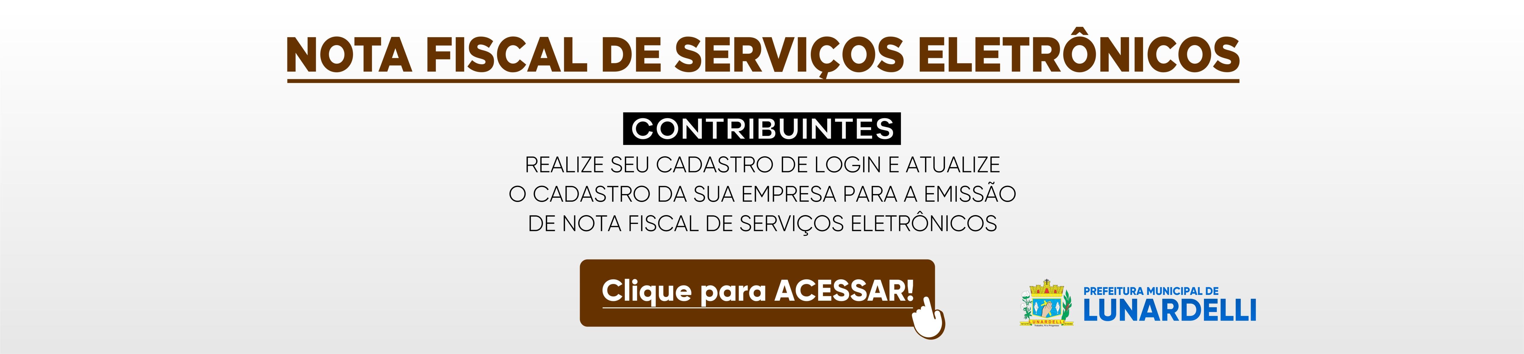 Nota Fiscal de Serviço Eletrônico
