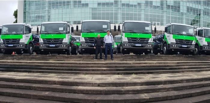 Tupãssi agora conta com mais um caminhão pipa para auxílio das demandas municipais
