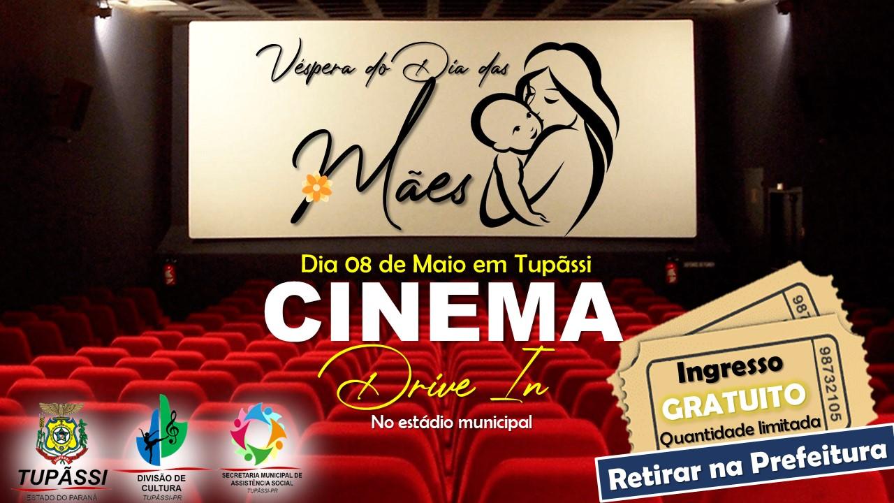 Prepare a Pipoca! Tupãssi Terá Cinema Drive In no dia 08 de Maio