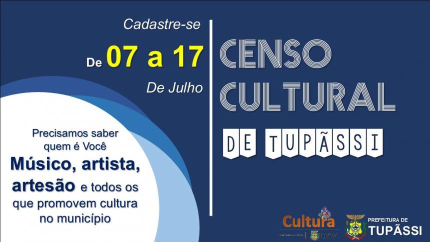 CULTURA:  Tupãssi Disponibiliza Cadastro para Artistas e Espaços Culturais do Município