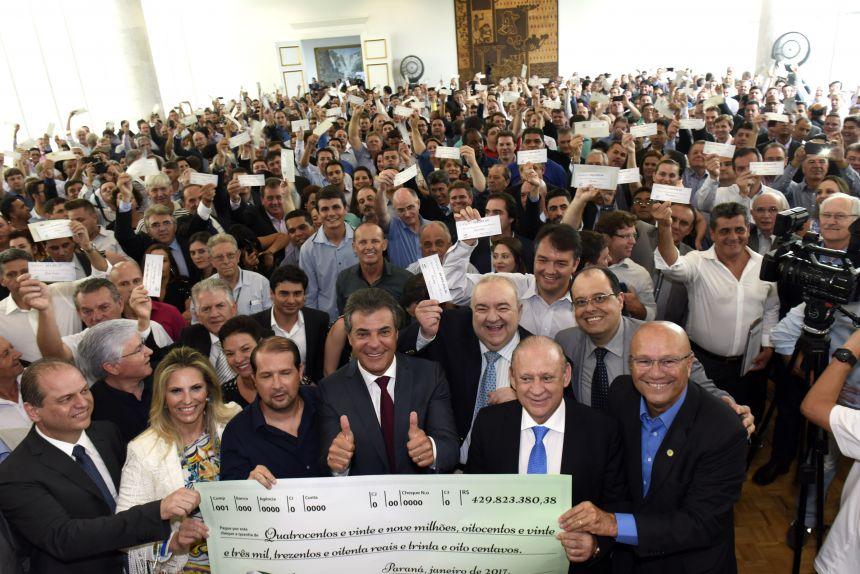 Tupãssi recebe R$ 715 mil do Governo do Paraná