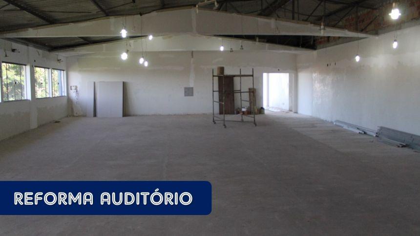 Confira o Andamento da Reforma e Ampliação do Centro Cultural de Tupãssi
