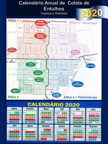 Recolhimento de Entulhos do Município Segue Conforme o Calendário Anual de Coletas de Tupãssi