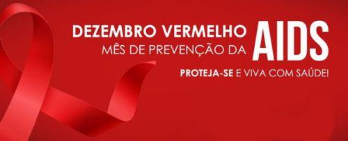 """Campanha """"Dezembro Vermelho"""" alerta população para a prevenção contra o vírus HIV"""