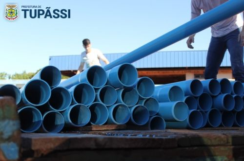Município Inicia Obras para Ligação de Mais um Poço aos Reservatórios Centrais de Água