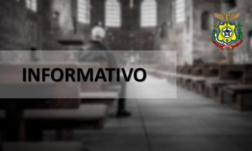 Igrejas de Tupãssi Poderão Abrir para o Público, desde que Seguidas as Recomendações de Prevenção a COVID-19