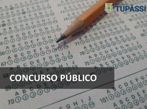 Prefeitura de Tupãssi Abre Inscrições para  Concurso Público