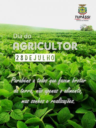 28 de julho, Dia do Agricultor