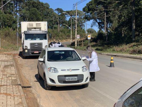 COVID-19: Prefeitura instala barreiras sanitárias nos acessos ao município