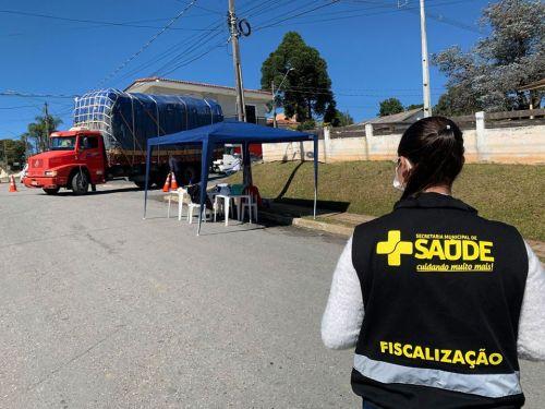 Secretaria Municipal de Saúde divulga balanço das barreiras sanitárias contra a Covid-19.