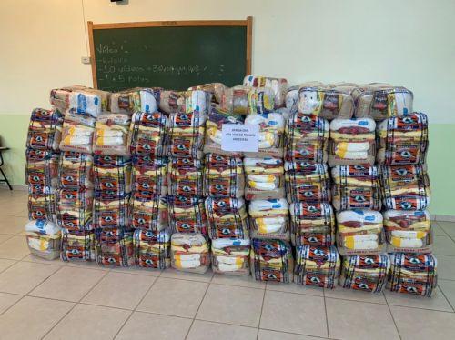 Defesa Civil de São João do Triunfo recebe 300 cestas básicas da Defesa Civil.